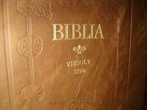 Hungarian 1590 Bible Vizsoly Historical / 1981 REPRINT / Vizsolyi 1590 Biblia I-II. / Karolyi Gaspar vizsolyi Bibliaja / Magyar Szent Biblia