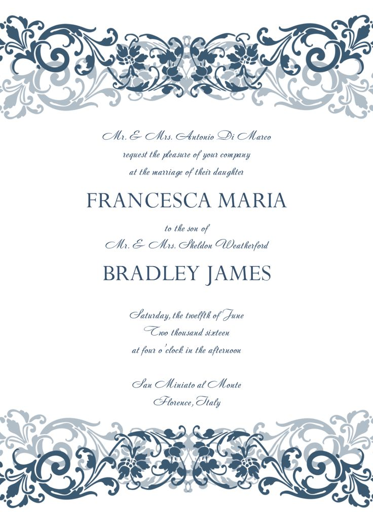 Free Invitation Card Templates For Word Fair 25 Best Mariage Images On Pinterest  Weddings Invitations And Cards