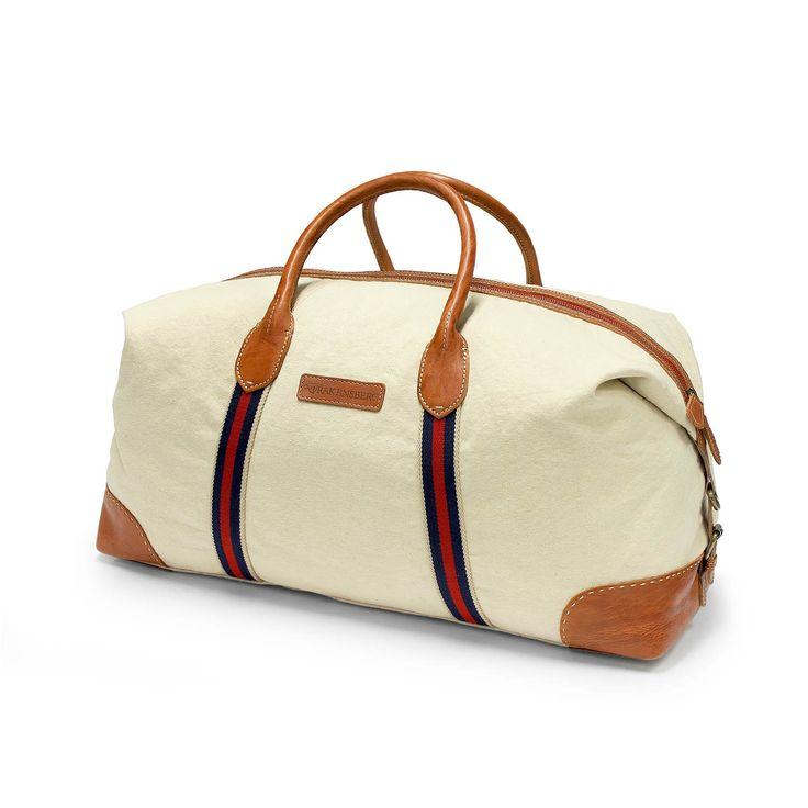 DRAKENSBERG EASTPORT Duffel Weekender - Der Duffel Weekender ist eine sportliche Reisetasche für längere Wochenendtrips bis zu 5 Tage. Die Tasche kann lässig über die Schulter gehängt werden oder auch elegant mit der Hand an den Lederriemen getragen werden. Diese Tasche ist besonders bequem zu öffnen und zu befüllen. weekender, preppy, handgepäck, vintage, heritage, leder, canvas, beige, maritim, xl, holdall, travel bag