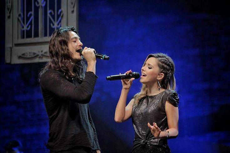 Sandy e Tiago Iorque  último show da turnê Meu Canto 17/12/2017