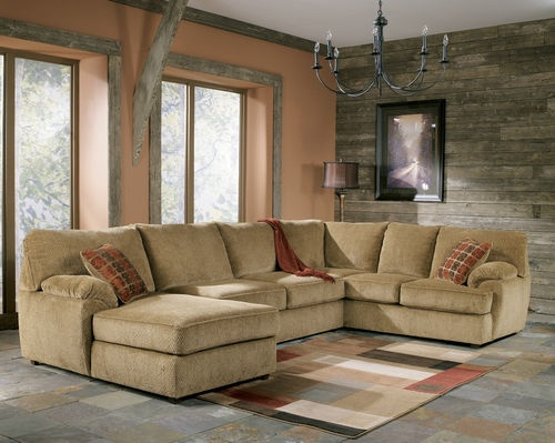 Ashley Furniture Bartlett Caramel Sectional Living Room Sofa Set Fair Living Room With Sectional Design Inspiration