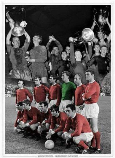 Manchester United European Cup winners 1968