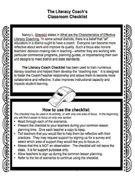 17+ best images about Literacy Coach on Pinterest | Coaching ...
