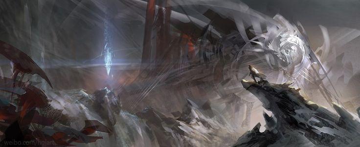 [컨셉아트] 해외 컨셉아티스트 Guangjian Huang의 컨셉아트&게임원화...! 감탄이 절로 나옴.... : 네이버 블로그