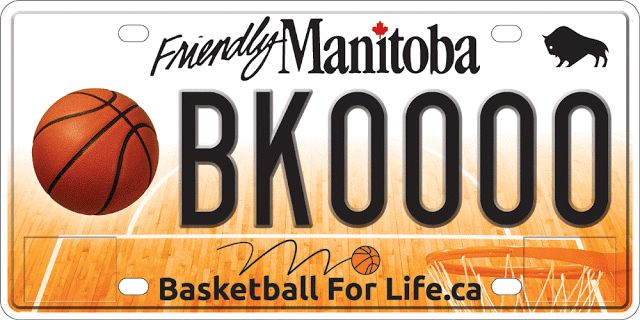 New Basketball Specialty Licence Plate Launched in Manitoba; Available March 20   The provinces newest specialty licence plate has a distinctive sporting theme with todays unveiling of the new Basketball Manitoba plate Premier Brian Pallister announced today.  From medaling at national provincial tournaments to winning university championships Manitobas basketball success runs deep said Pallister. Basketball is a sport that encourages teamwork inclusion and sportsmanship  values our…