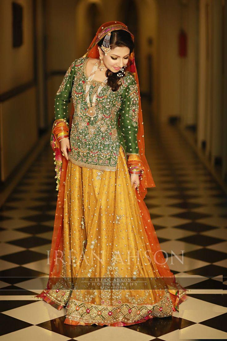 963 best haldi function dresses images on pinterest for Pakistani wedding mehndi dresses