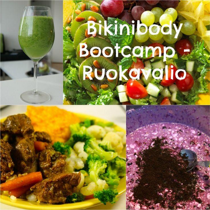 Bikinibody Bootcamp ruokavalio