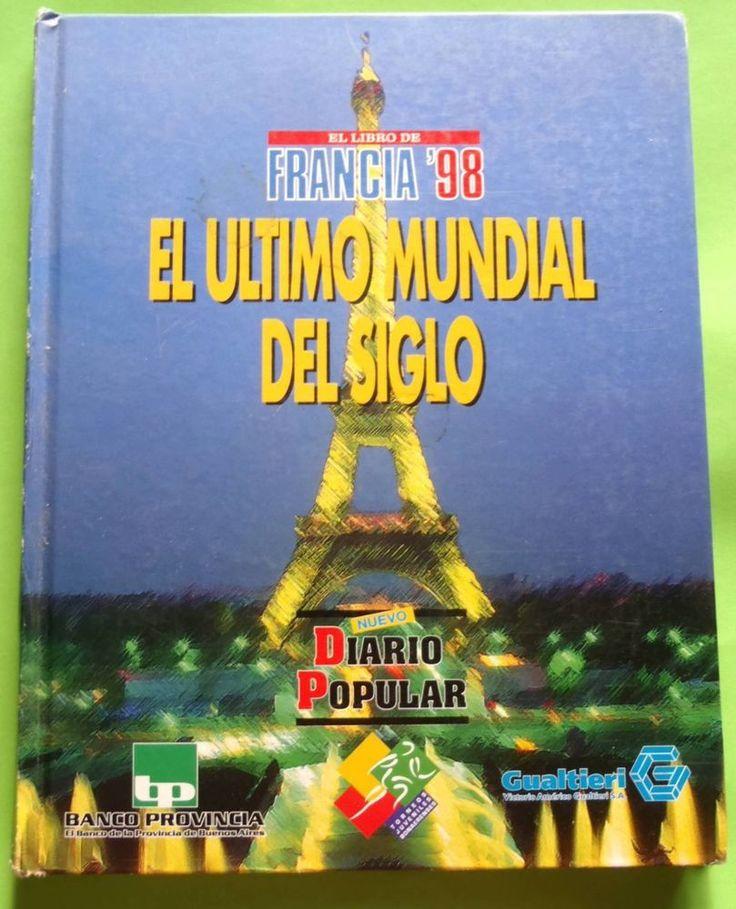 FRANCIA 98 FUTBOL SOCCER WORLD CUP MARADONA PELE BATISTUTA RONALDO  XRARE!!