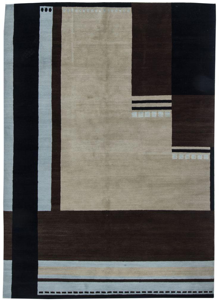 Tibetan Rugs: Tibetan Rug perfect for modern interior decor, contemporary living room