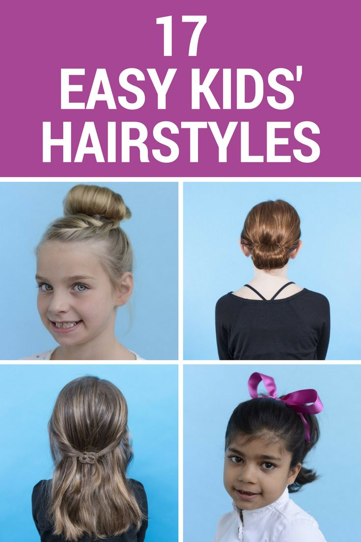 Braids, ponytails, twists, and more! No matter what your hair skill level, you can definitely master some of these easy kids' hairstyles.