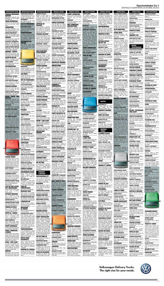 Adeevee - Volkswagen Trucks: Newspaper