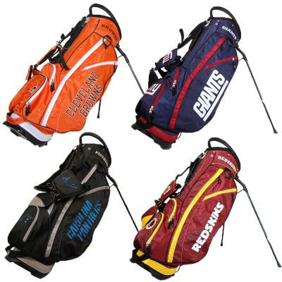 """NFL Fairway Stand Bag: """"NFL Fairway Stand Bag The officially licensed NFL Fairway Stand Bag from Team Golf will add some style and swagger…"""