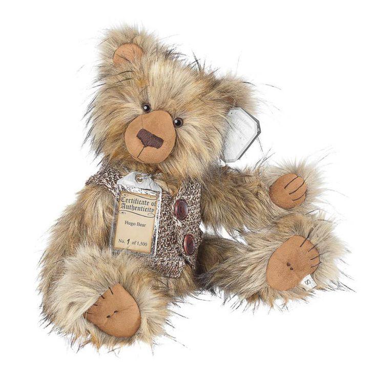 Suki Teddy Bear Hugo - Silver Tag Bear - Collection 4