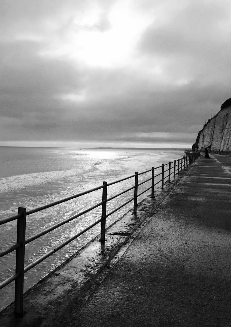 Ramsgate Beach, winter walk
