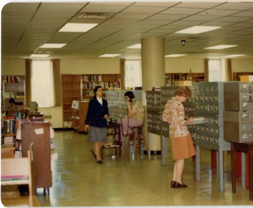 Browsing in the card catalogues...