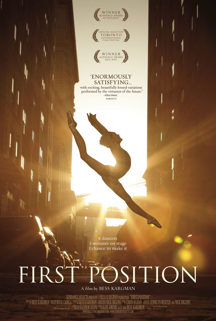 "DANCE IN CINEMA. MiNA Recommends: ""First Position"" (Part I)"