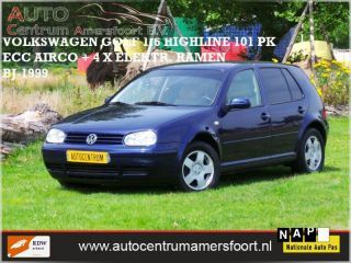 Volkswagen Golf - 1.6 Highline 100pk (INRUIL MOGELIJK)