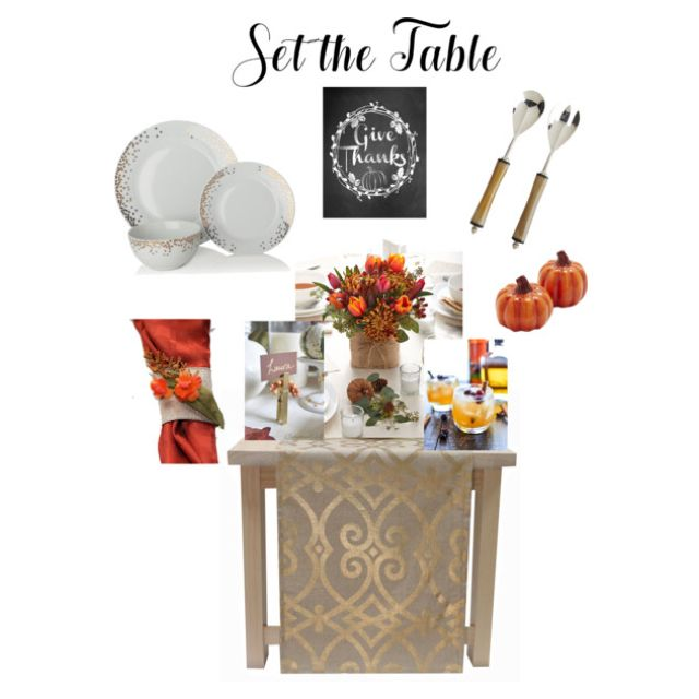 Tablescapes, table setting table decor, fall, Thanksgiving, stinavilla, wardrobe consultant, personal stylist  Give Thanks, Thanksgiving, table setting, table runner