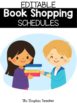 There are 3 different editable schedules to display in your classroom or in your class library to remind your students when they should change their books.  Also included are prefilled schedules for each table to know when they are going shopping.  *IF YOU LIKE THIS PRODUCT, PLEASE LEAVE A POSITIVE FEEDBACK!!!*If you enjoy this product, you might also LOVE:Reading Response and Listening Center JournalIf you have any questions email me at…