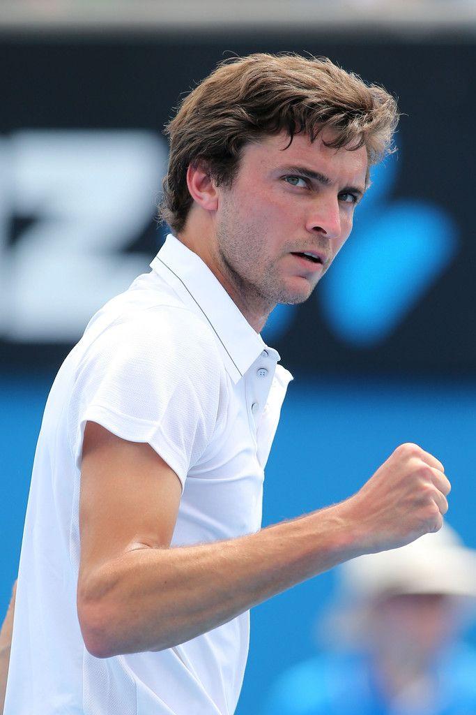 Gilles Simon Photos: Australian Open: Day 2