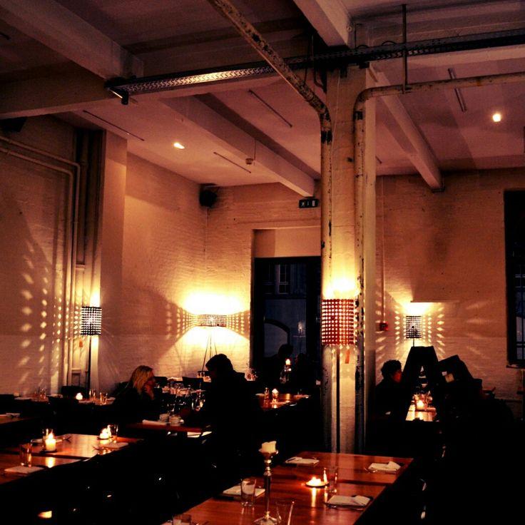 Restaurant Beleuchtung Lagerhaus St. Gallen #restaurant #food #lightshape  #sanktgallen
