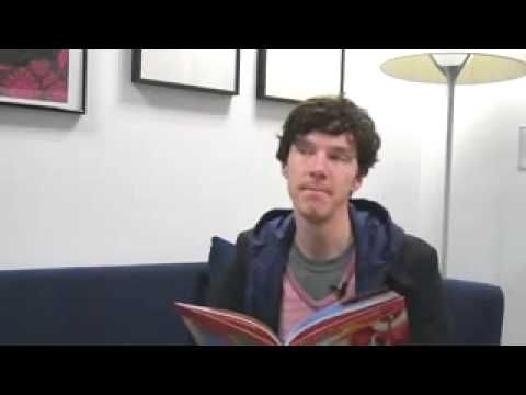 """Benedict Cumberbatch reading a fairtytale"". Y'ALL THERE IS SO MUCH HILARITY HERE. BY THE TIME IT WAS OVER I WAS LAUGHING SO UNCONTROLLABLY AND CRYING. IT'S JUST TOO DANG FUNNY IT IS SO WORTH IT JUST WATCH IT NOW."