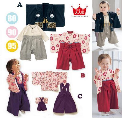 赤ちゃんの女の子の綿プリント日本着物かわいい赤ちゃん男の子ロンパース幼児bebes長袖カバーオール赤ちゃん服ハロウィン小売ホット