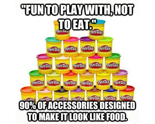 Douchbag Play-Doh
