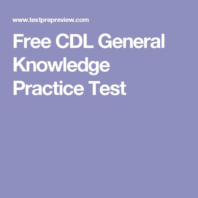 FREE Texas CDL General Knowledge Exam Simulator 2019
