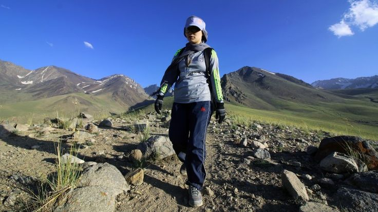 Afghanistan's Only Female Marathon Runner Is Racing to Keep Women's Sport Alive. In October 2015, Zainab, a petite woman of 25, became Afghanistan's first woman to complete a marathon. As the only Afghan female to finish the Marathon of Afghanistan in Bamyan province, Zainab braved threats of violence and had defied the prevailing local wisdom that women were incapable of tough athletic feats. At her award ceremony, the Governor of Bamyan noted that Zainab would have been killed | Outside…