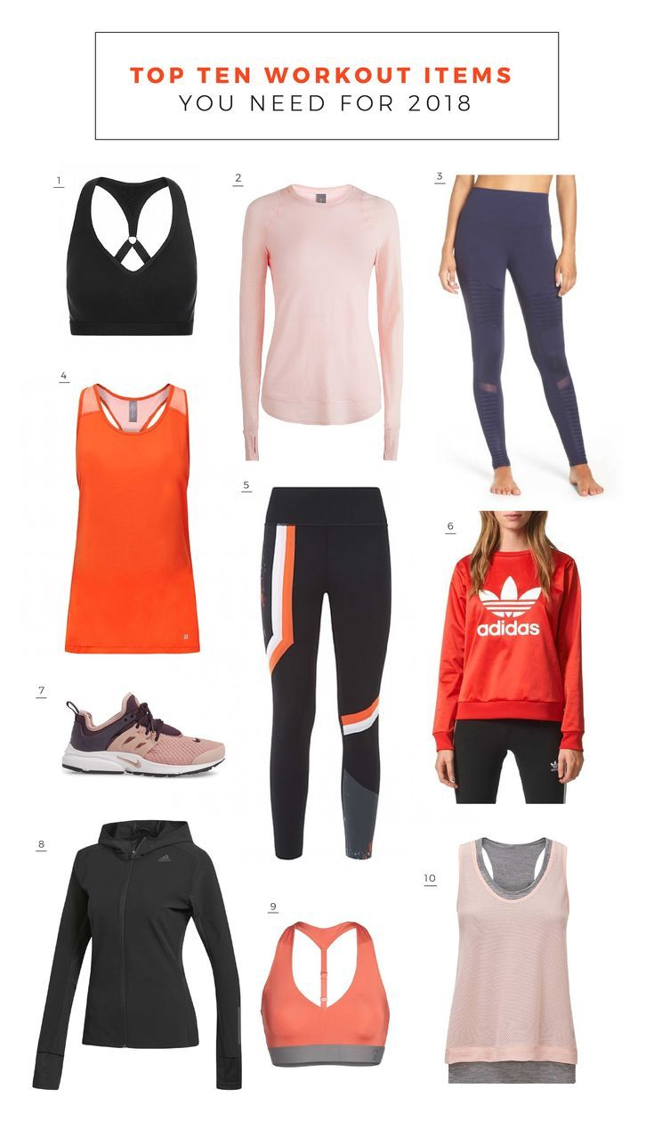 Top Ten Workout Items You Need for 2018 | workout clothing | workout clothes | workout outfits | cute workout clothes | women's workout clothing || The Girl in the Yellow Dress #workoutclothes #workoutoutfits #fitnessstyle