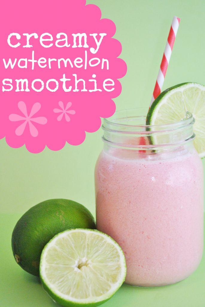 Creamy Watermelon & Lime