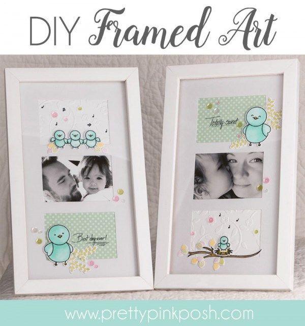 DIY Framed Art | Pretty Pink Posh