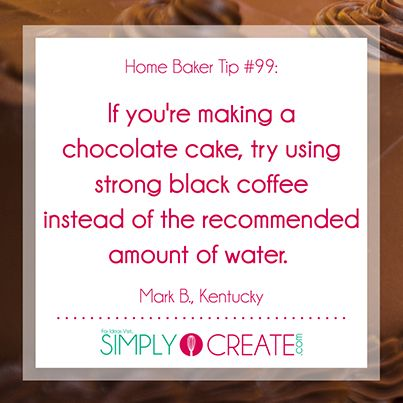 For more fantastic baking tips, tricks and ideas, check out Simply Create.