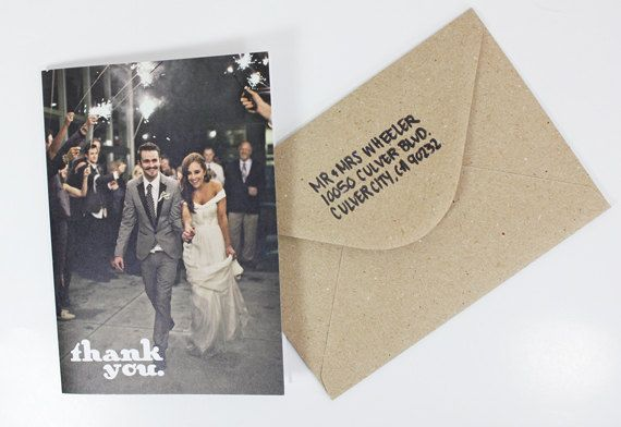 Wedding Thank you cards by violaprints on Etsy, $15.00