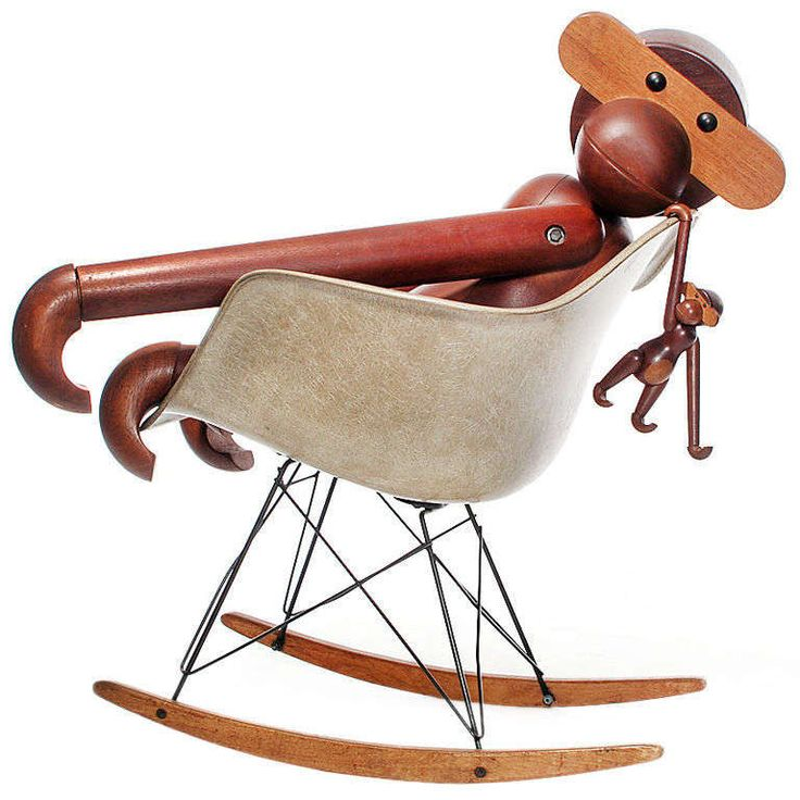 the Greatest Ape in the World by Kay Bojesen | From a unique collection of antique and modern toys at http://www.1stdibs.com/furniture/more-furniture-collectibles/toys/