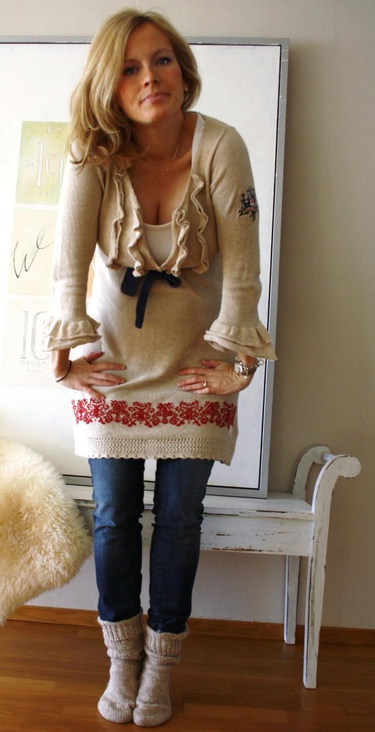 Johanna, Blogger of Kalastajan Vaimo. Clothes: Odd Molly & Vila.