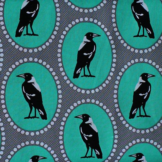 Cotton Quilting Fabric BRAND: Ella Blue Fabrics AUSTRALIAN DESIGNER: Emma Jean Jansen COLLECTION: MELBA (2015) (Emmas inspiration came from