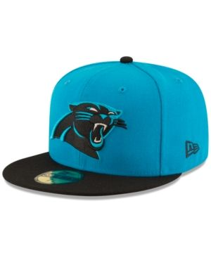 New Era Carolina Panthers Team Basic 59FIFTY Fitted Cap - Blue 6 7/8