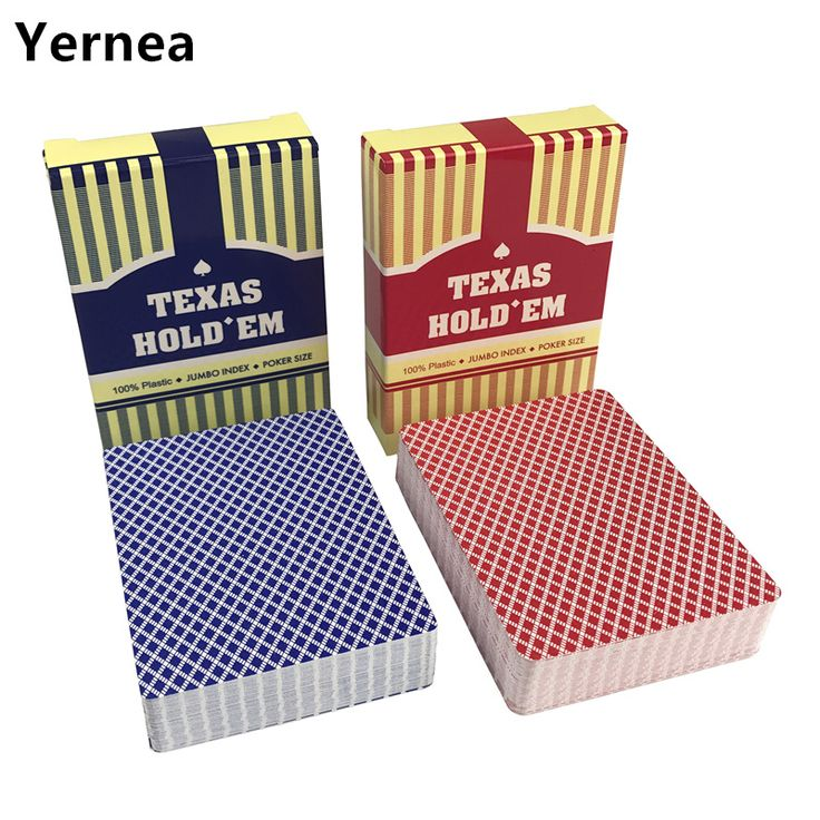 ==> [Free Shipping] Buy Best NEW HOT 10Sets/Lot Baccarat Texas Hold'em Plastic Playing Cards Pokers Waterproof Frosting Poker Cards Board Games Yernea Online with LOWEST Price | 32818365867