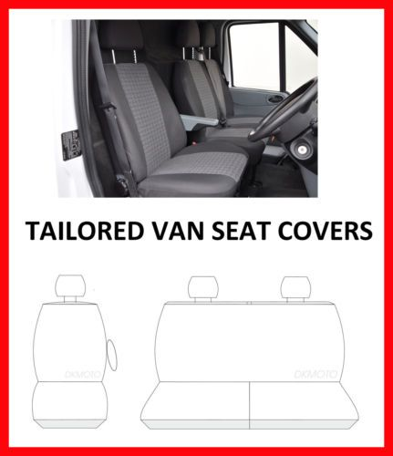 Van Seat Covers For Renault Trafic 2014 On