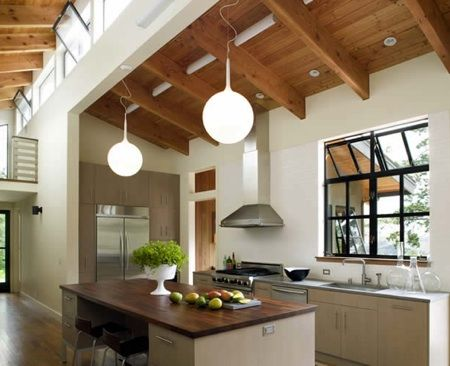 27 best mid century modern homes sacramento davis and for Modern barn kitchen
