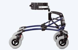 Mustang gait trainer, by snug seat.
