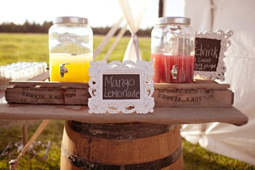 Source: Amanda K Photography: Wedding Ideas, Wedding Decor, Cute Ideas, Rustic Weddings, Wedding Drinks, Party Ideas, Lemonade Stand, Food Drinks