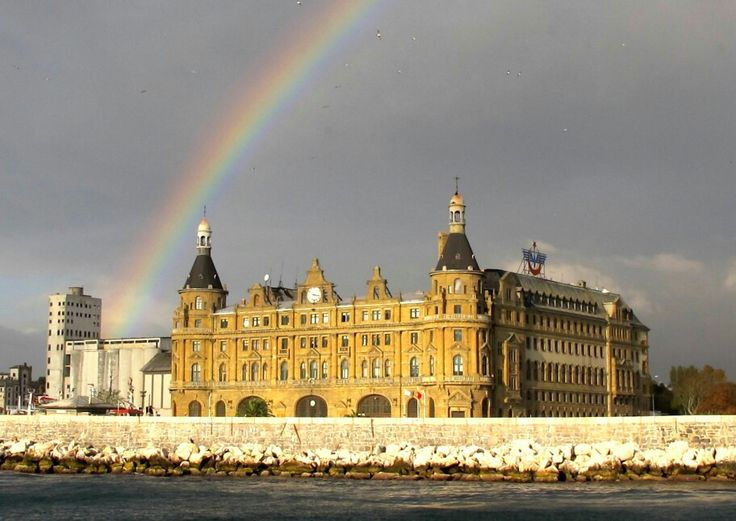 Rainbow on Haydarpaşa