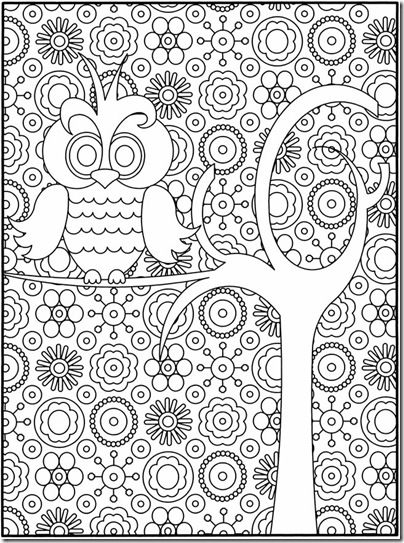 Cool coloring pages for creative kiddos. Love the simplicity for us big