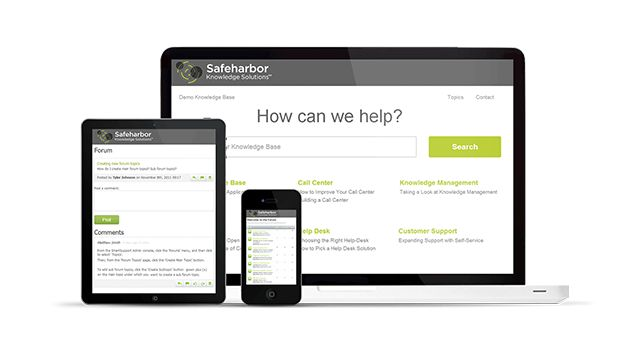 Enghouse Systems has acquired Safeharbor Knowledge
