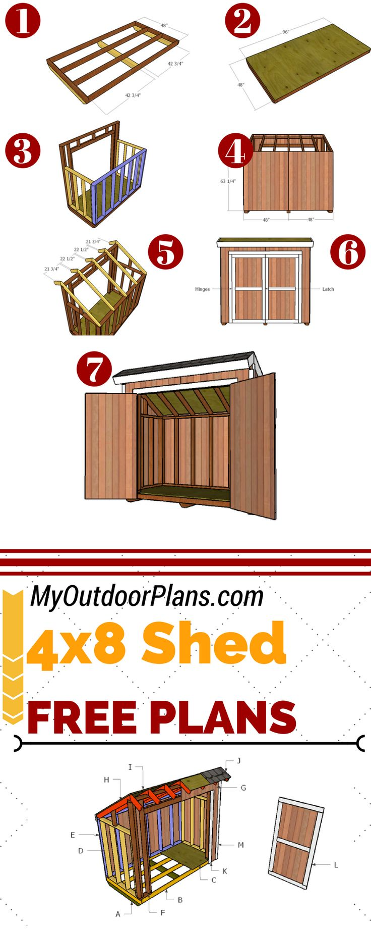 Best 25+ Outdoor storage sheds ideas on Pinterest | Garden ...