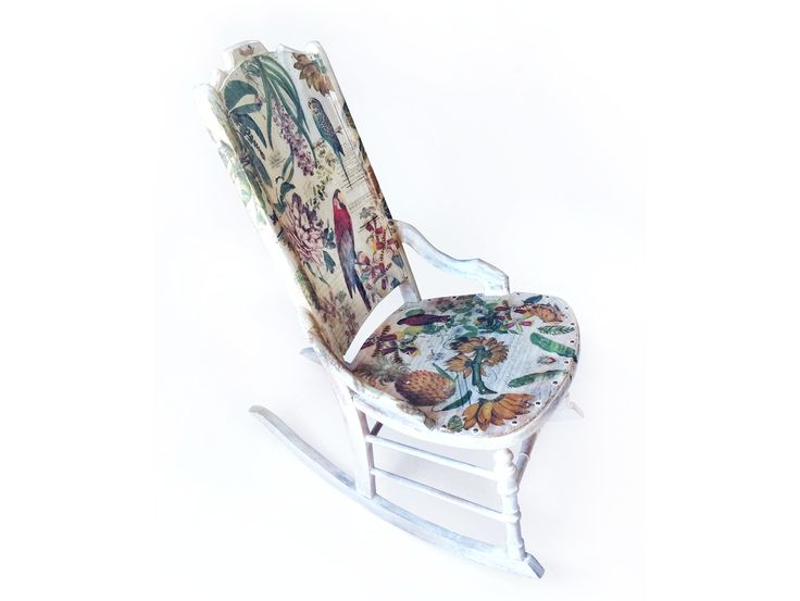 Tropical Province Rocking Chair