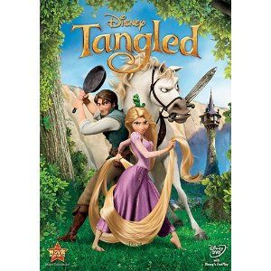 Tangled - my daughter's favorite!! She's growing her hair out like Rapunzel's, then cutting it short and donating it to Locks of Love :)